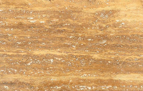 Yellow Travertine Vein Cut Slabs