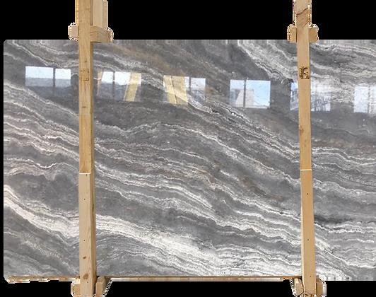Silver Travertine Vein & Cross Cut Slabs