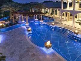Travertine Pool