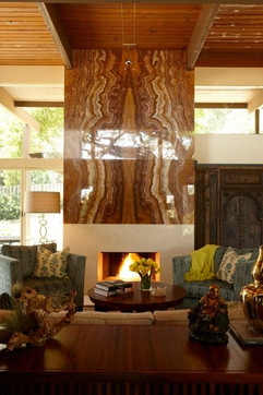 Onyx Fireplace Decor