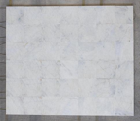 Topaz White Marble Tile
