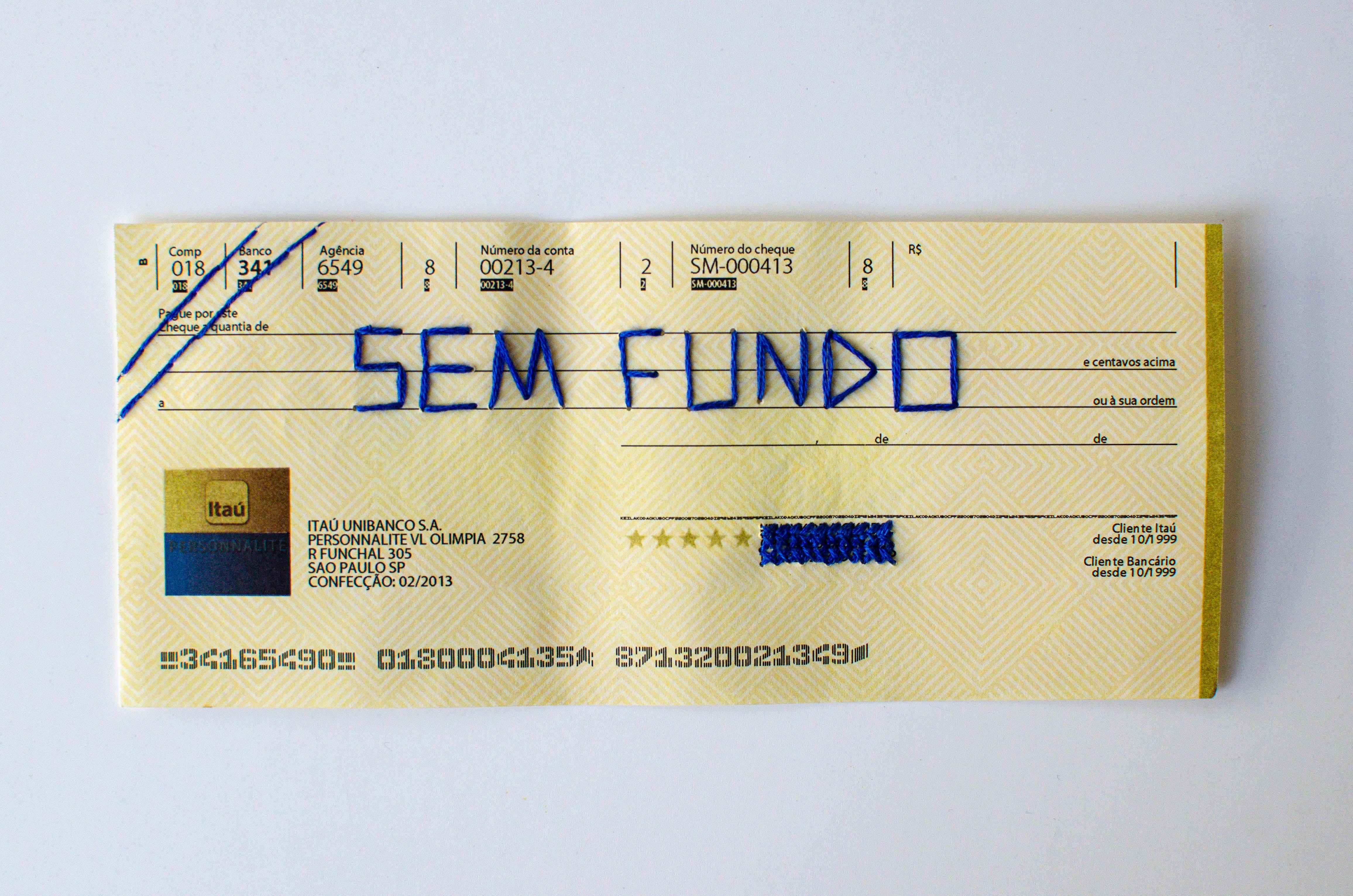 Cheque especial, 2020