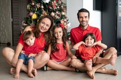 ensaio de familia - ensaio de natal