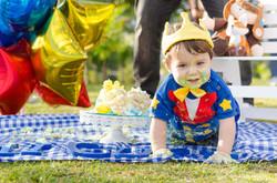 fotografia infantil - smash the cake