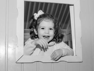 Laura e seus 3 anos...