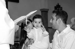 Fotografia de batizado