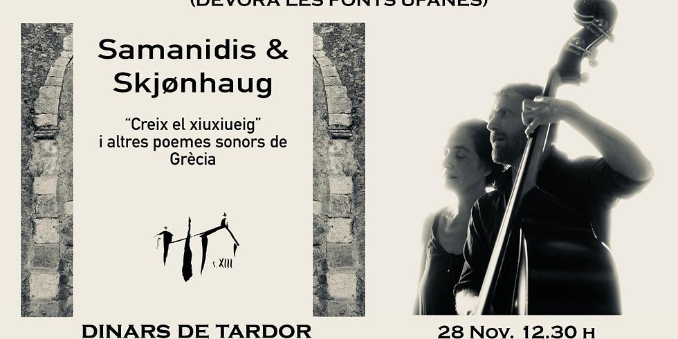 Samanidis & Skjønhaug - Creix el xiuxiueig i altres poemes sonors de Grècia