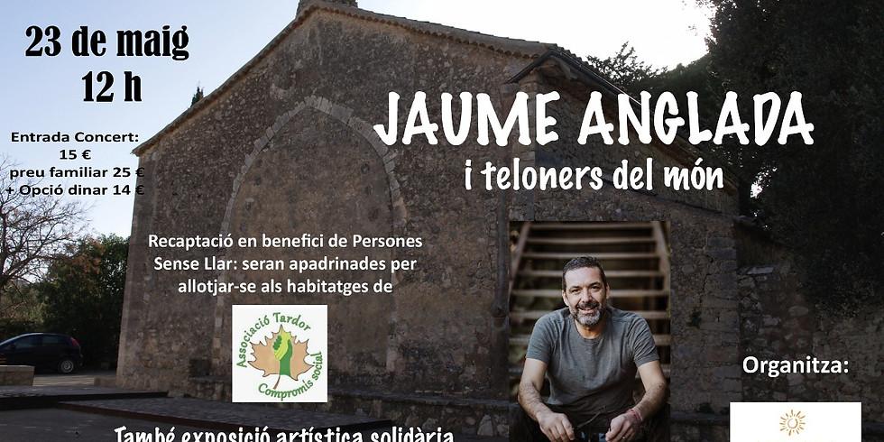 Jaume Anglada - Concert solidaria en benefici de les persones sense llar