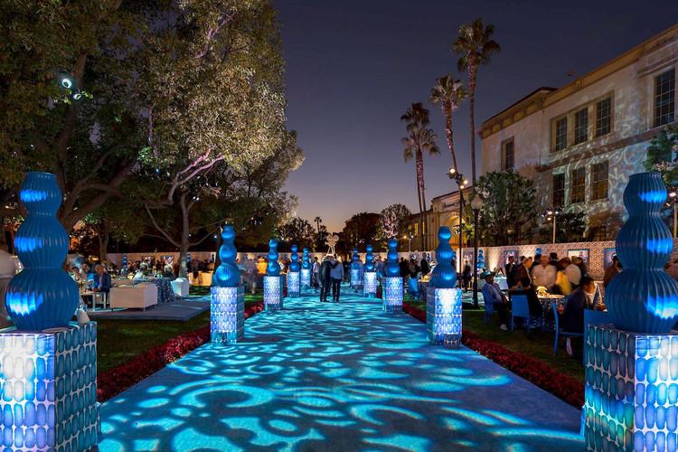 Bronson Plaza | Paramount Pictures Studios (Photo: Billy Butchkavitz Design)