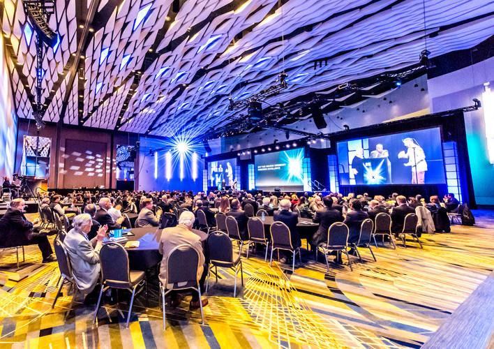 Grand Riverview Ballroom in TCF Center
