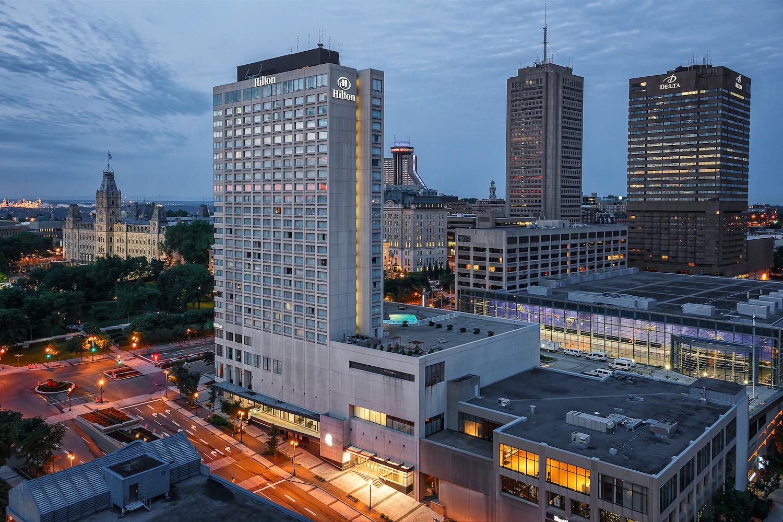 Hilton Quebec on Parliament Hill