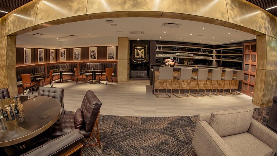 Directors Lounge (Photo Credit - LAFC)