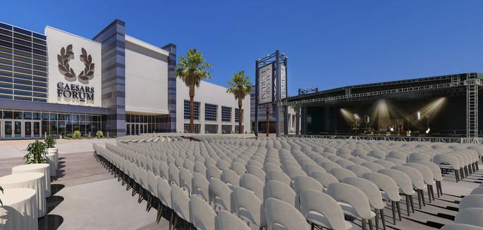 CAESARS FORUM Forum Plaza Theater