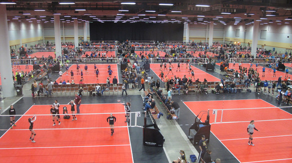 The Iowa Events Center provides 100,000 sq ft of flat space to bring your sporting event under one roof.