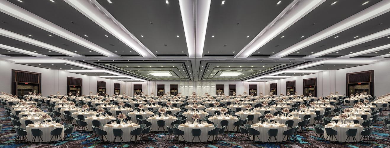 CAESARS FORUM Academy Ballroom Rounds
