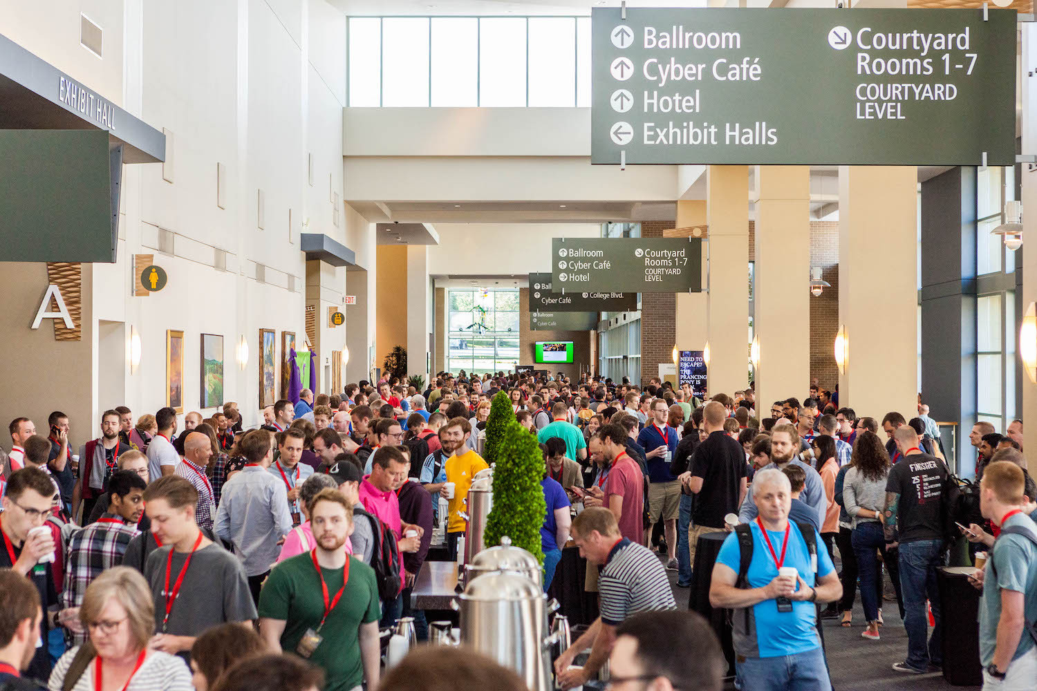 Four thousand of the brightest in technology come together for Cerner's annual DevCon event hosted at the Overland Park Convention Center.