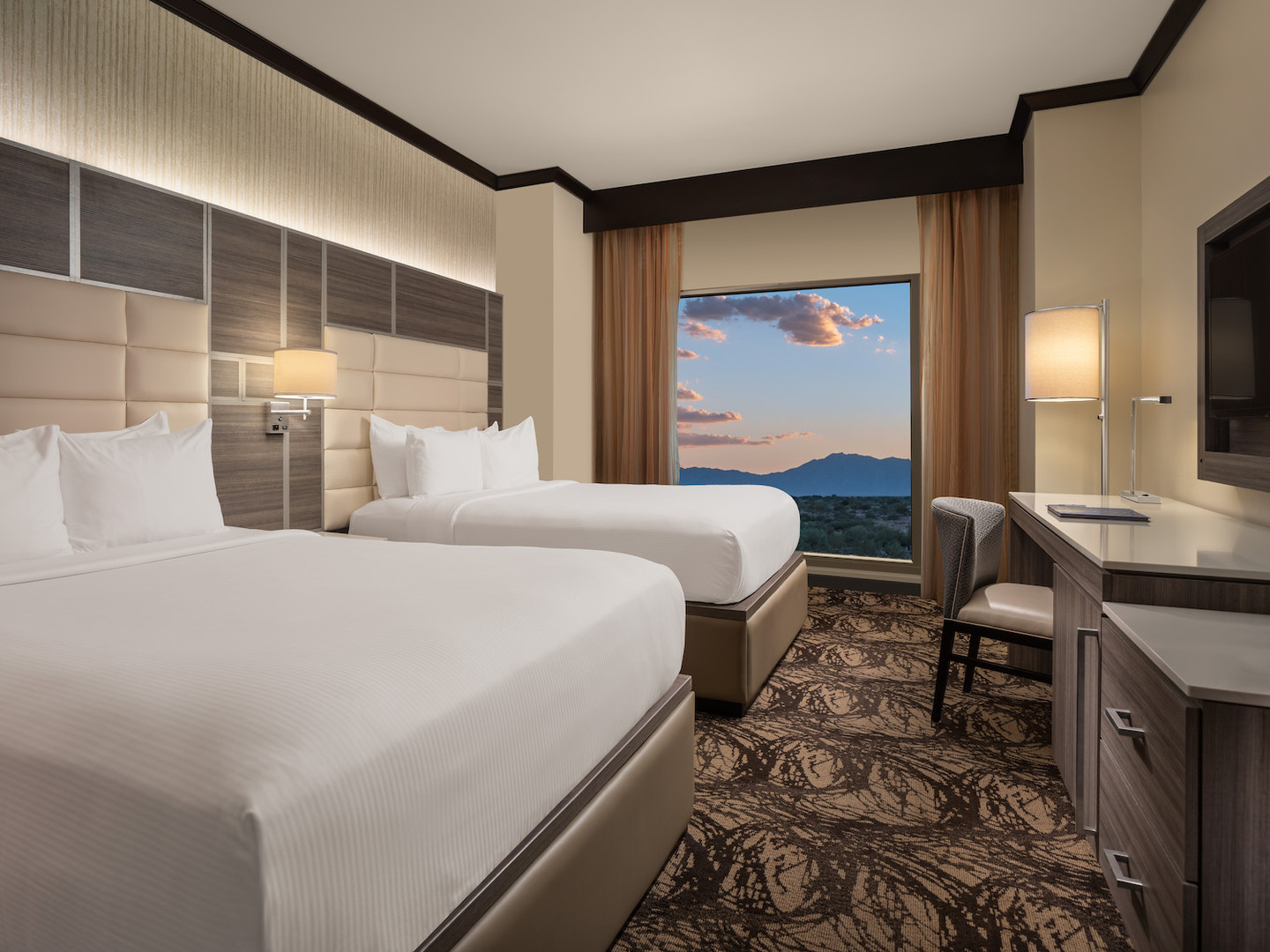 Wild Horse Pass Standard Double Guest Room