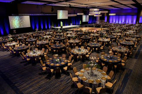 The Ballroom offers 25,000 square feet for occasions of all types and sizes.