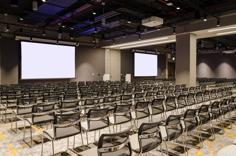 The Marquee Conference center is a versatile group of rooms designed to cater to your corporate or social needs. Joni Kat Anderson Photography