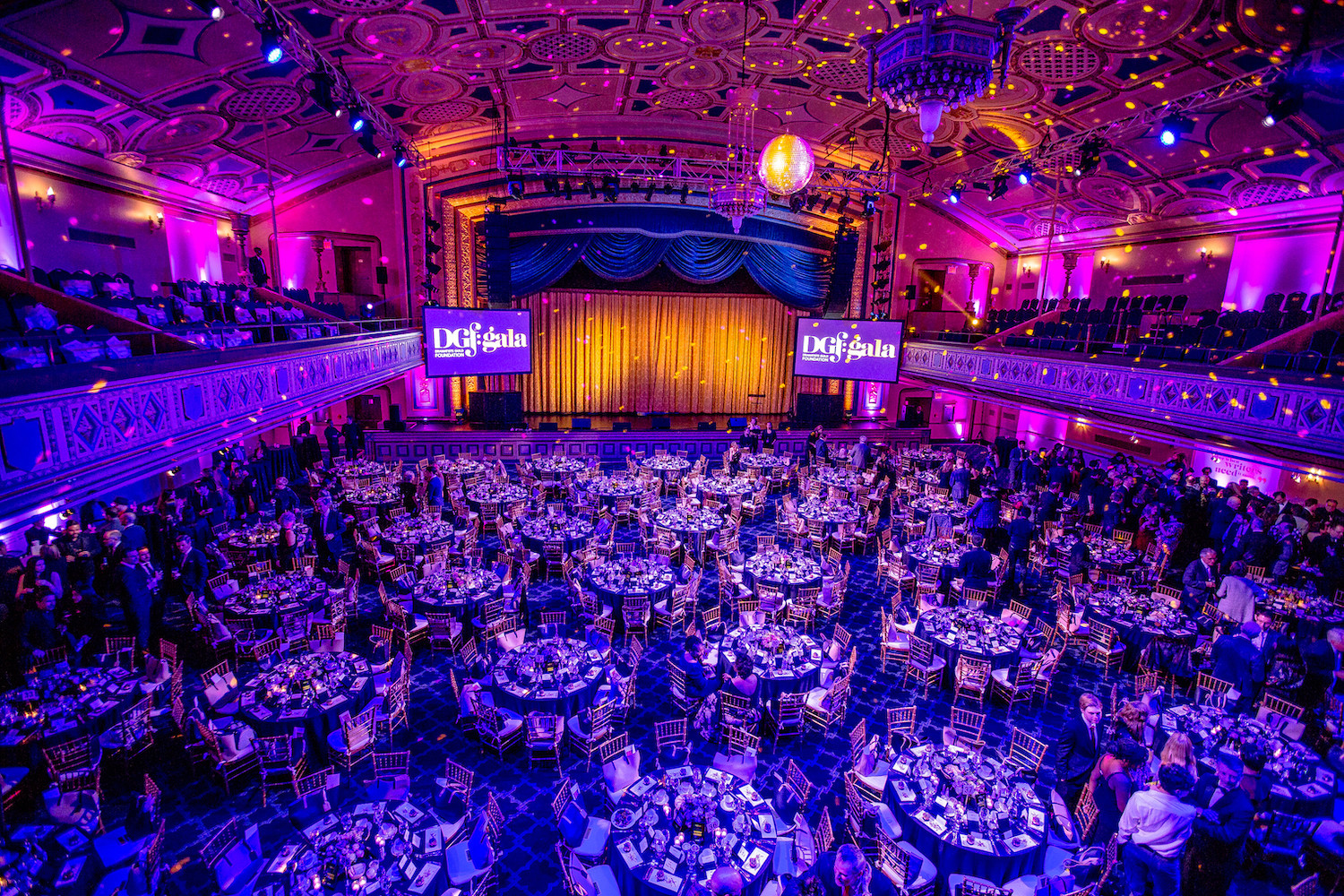 Dramatist Guild Foundation's annual dinner in the Grand Ballroom. Photo Credit: Mark Doyle