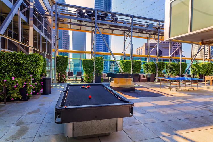 Billiard/Bar area