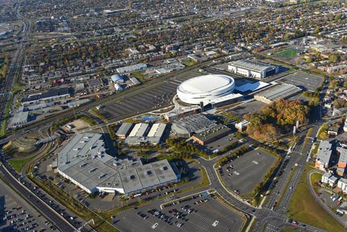 ExpoCité bird view   Ville de Québec