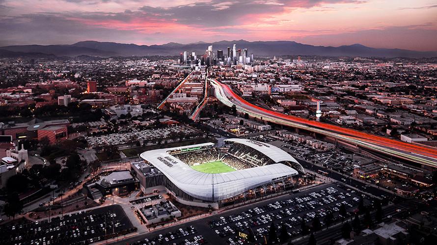Banc of California Stadium Exterior (Photo Credit - LAFC)