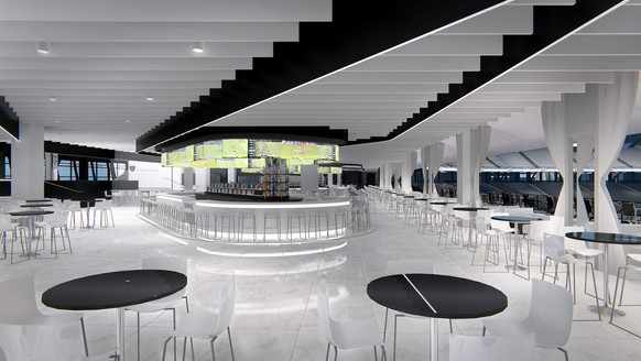 Modelo Cantina Club and Twitch Lounge (2 Identical Clubs)