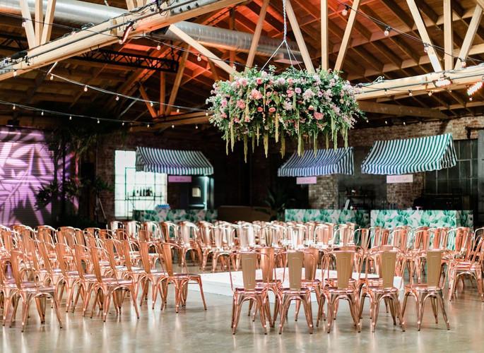 Beverly Hills Hotel Inspired Wedding