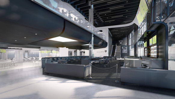 Modelo Cantina Club and Twitch Lounge Entry (2 Identical Clubs)