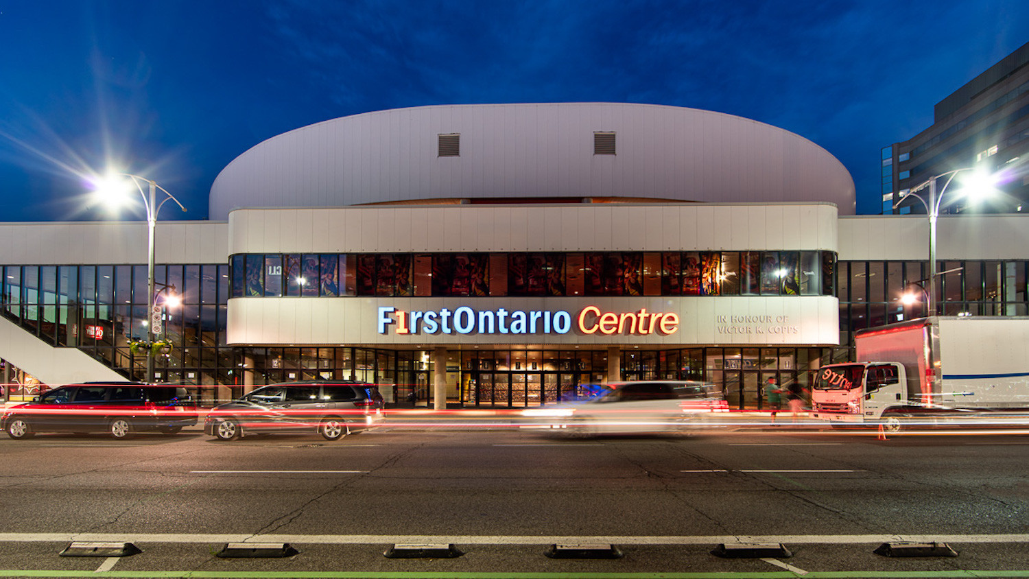 FirstOntario Centre - Exterior - PC: Kevin Thom