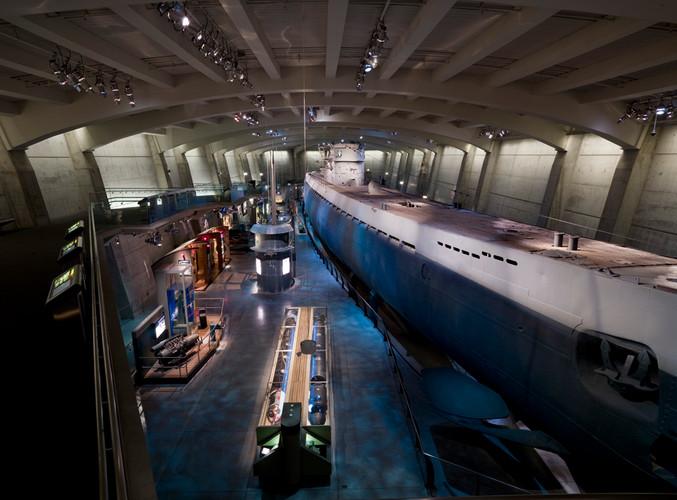 U-505 Submarine - MSI