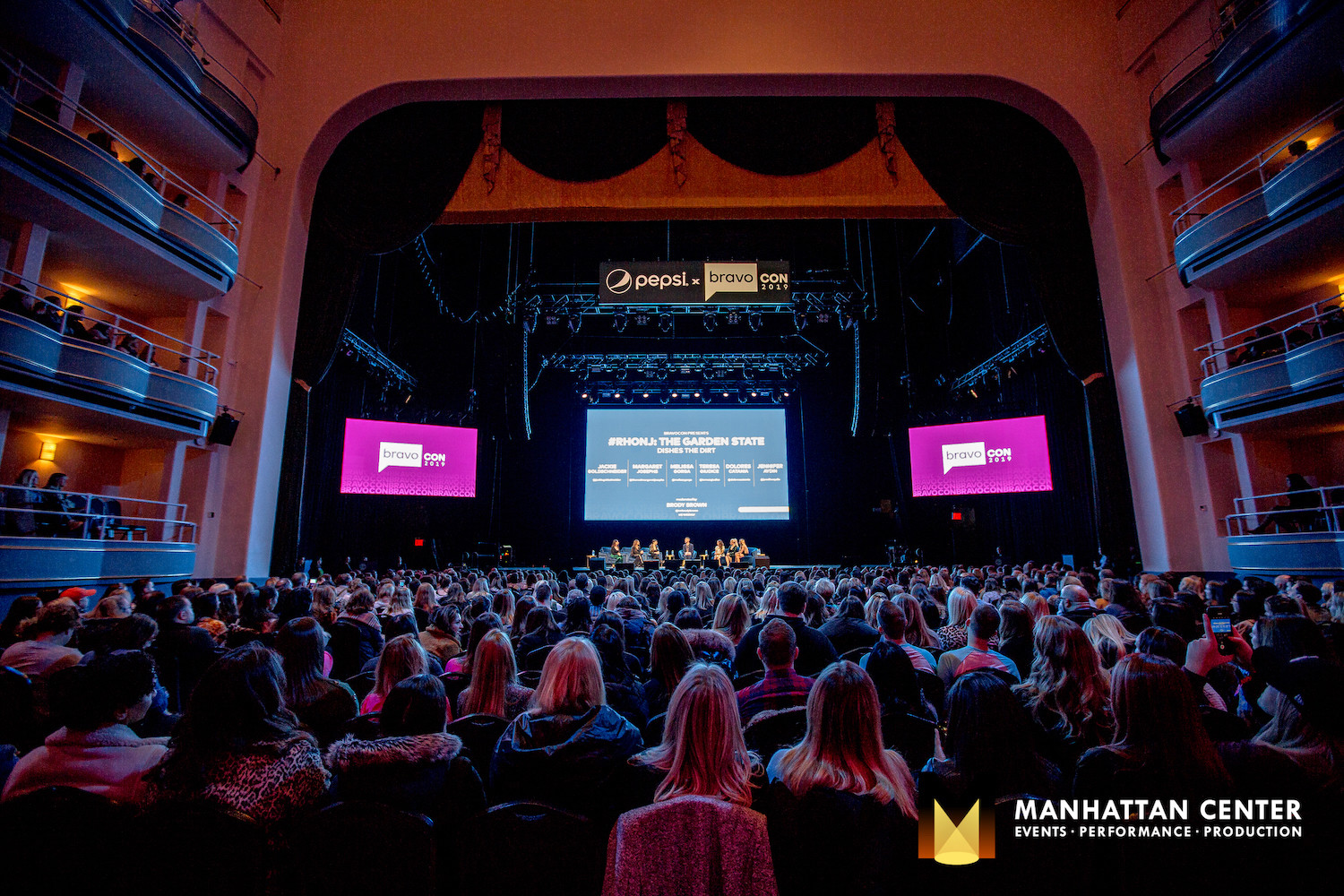 The first-ever Bravo Con in the Hammerstein Ballroom. Photo Credit: Mark Doyle