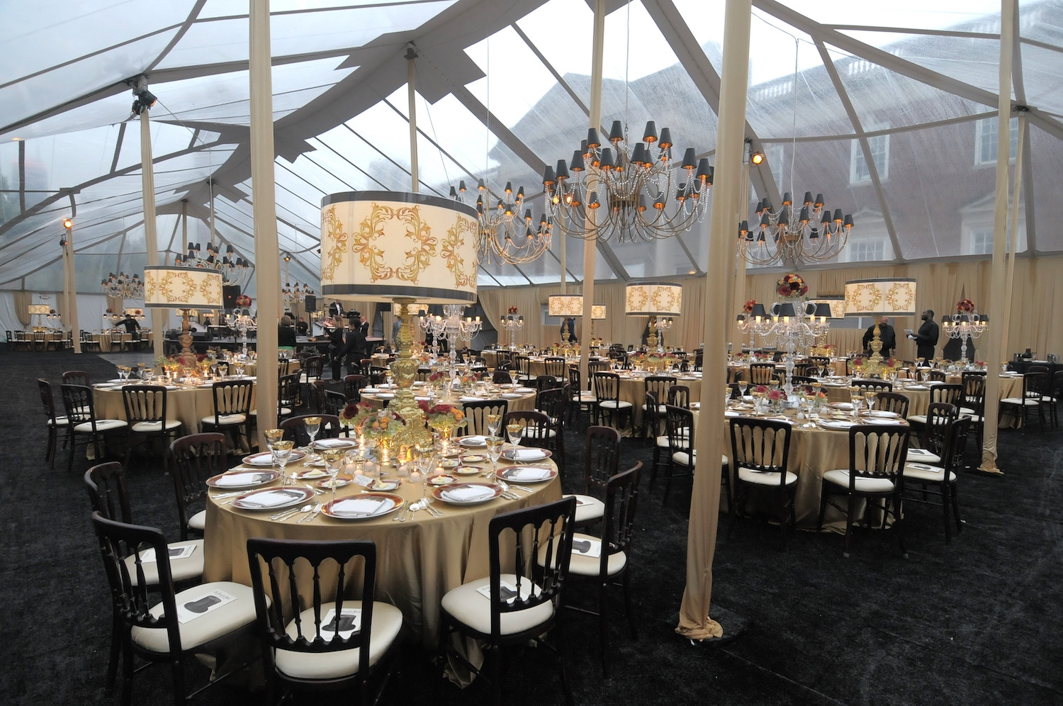 Tented Outdoor Plaza space