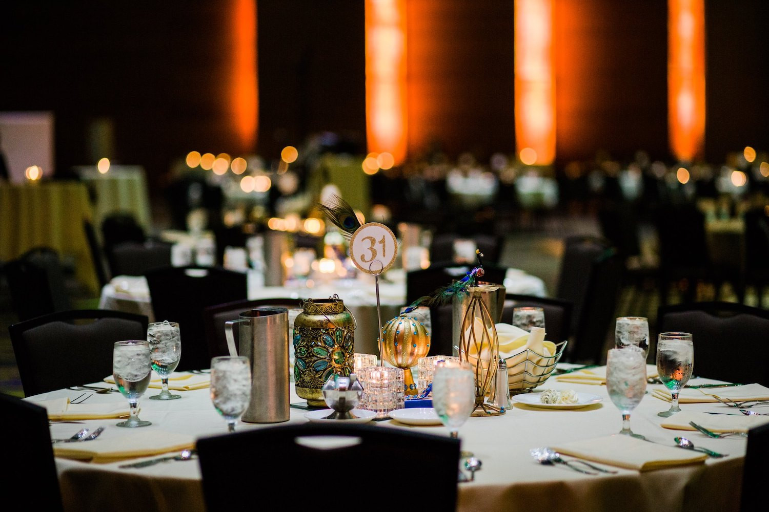 Our professional catering staff will help bring your event to life through the little details