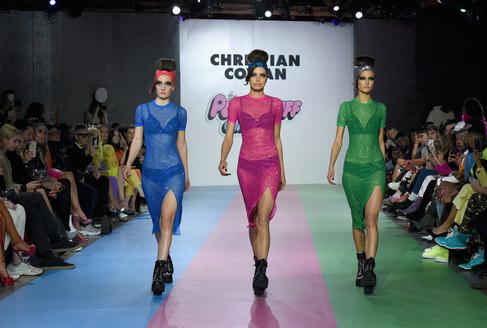 Christian Cowan x Power Puff Girls Fashion Show