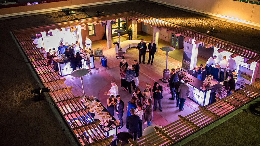 The aquarium is laid out in large galleries and intimate spaces creating the perfect place for your event.