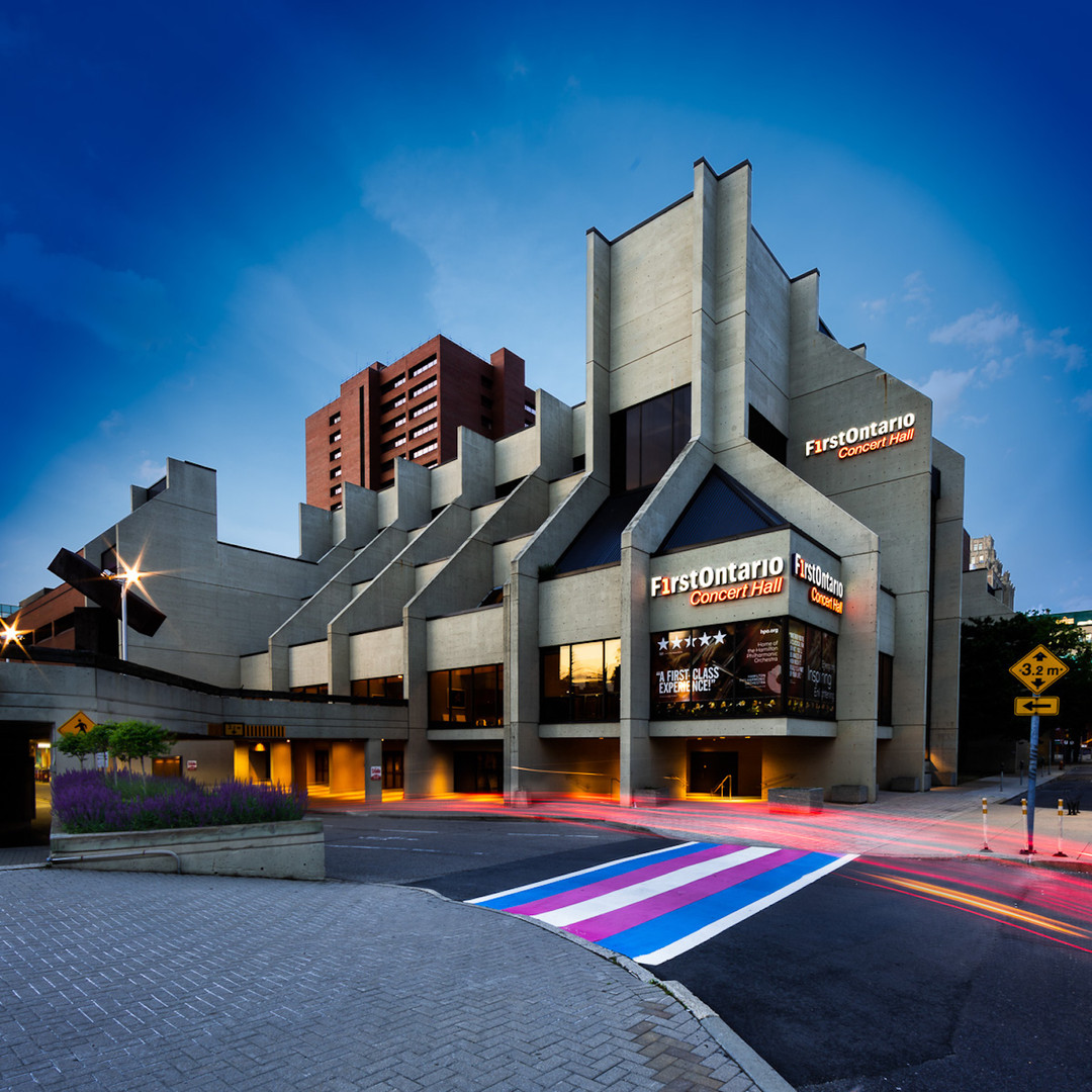 FirstOntario Concert Hall - Exterior - PC: Kevin Thom