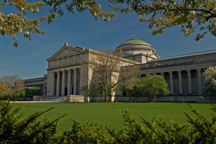 Museum of Science and Industry, front lawn - MSI