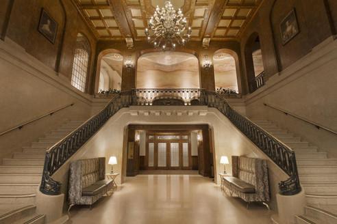 Grand Staircase - Fairmont Le Château Frontenac