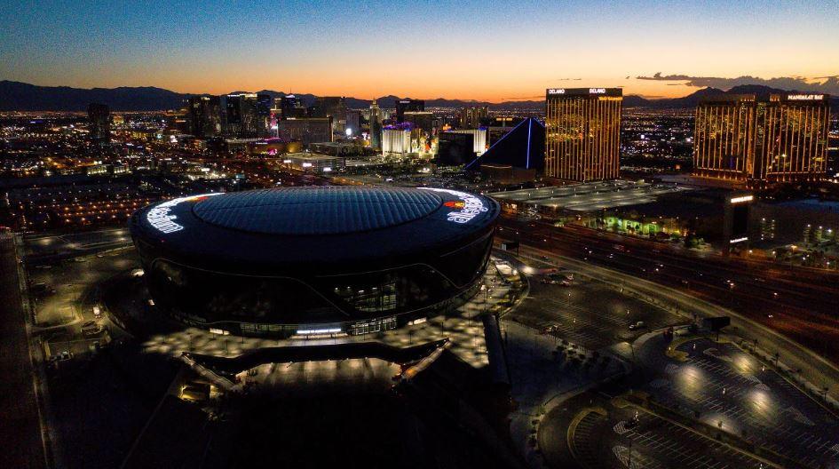 Allegiant Stadium Exterior Image