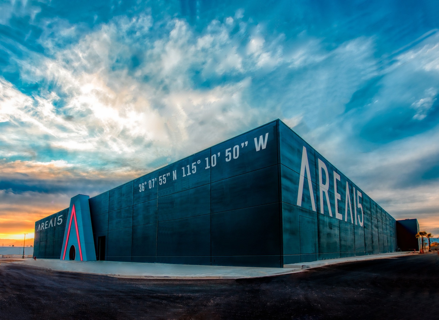 AREA15, an immersive entertainment complex and Las Vegas' newest event venue. (Laurent Velazquez)