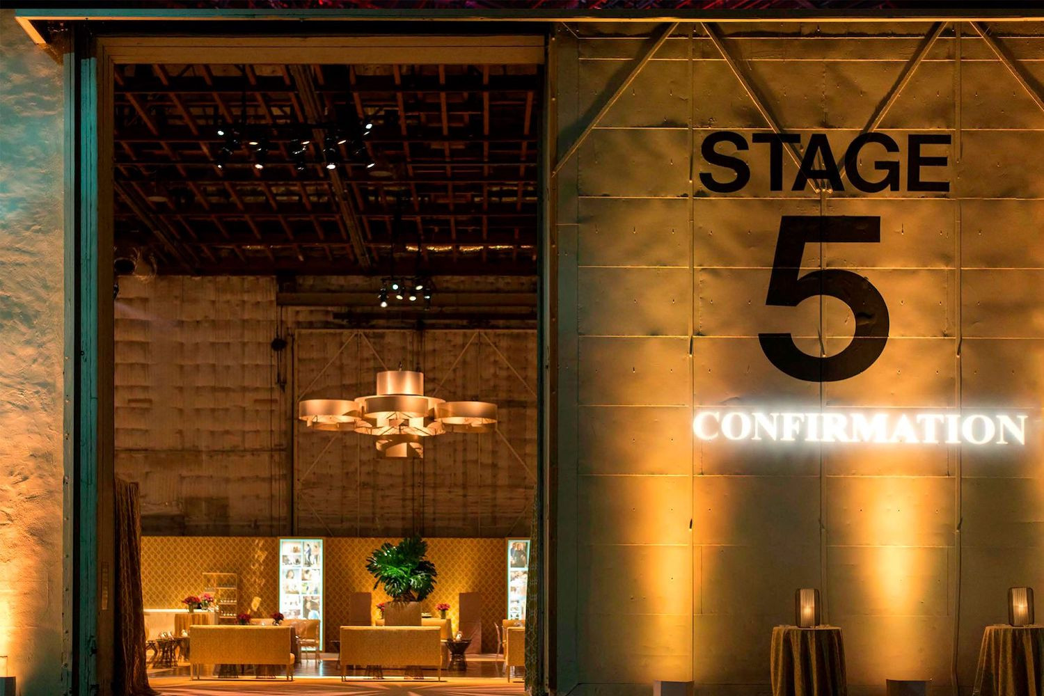 Stage 5 | Paramount Pictures Studios (Photo: Billy Butchkavitz Design)