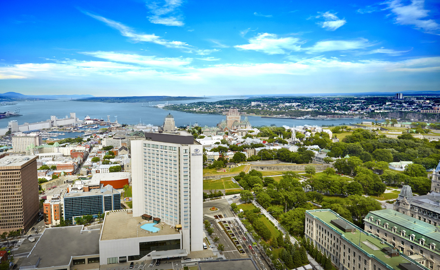 Hilton Quebec, located in the heart of it all!