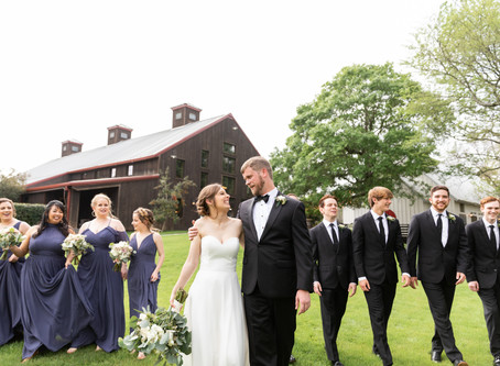 Kathryn + Harrison {The Carriage House}