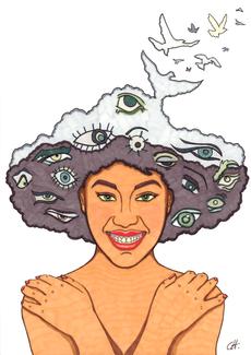 christine-jolly-christinejolly-art-paris-artiste-peintre-dessin-spiritualité-S'affranchir du regard des autres