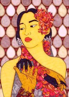 christine-jolly-christinejolly-art-paris-artiste-peintre-dessin-spiritualité-nostalgie