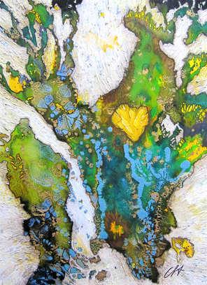 christine-jolly-christinejolly-art-paris-artiste-peintre-dessin-spiritualité-coeur de feu
