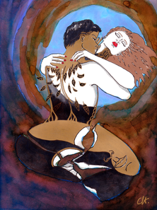 christine-jolly-christinejolly-art-paris-artiste-peintre-dessin-spiritualité-Onirique