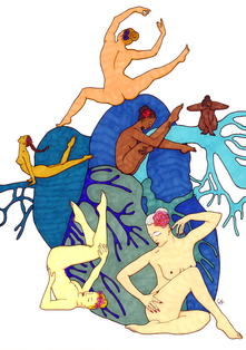 christine-jolly-christinejolly-art-paris-artiste-peintre-dessin-spiritualité-Danser sa vie